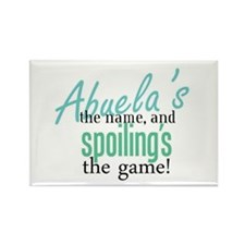 Abuela's the Name! Rectangle Magnet (10 pack)