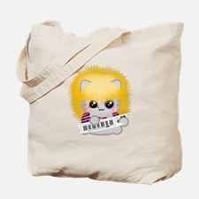 Rock Neko Tote Bag