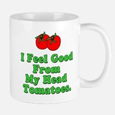 Good From Head Tomatoes Pun Mugs