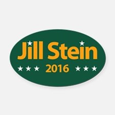 Jill Stein 2016 Oval Car Magnet