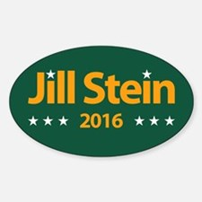 Jill Stein 2016 Sticker (oval)