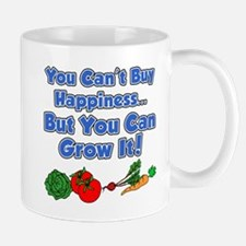 Can't Buy Happiness Grow It Mugs