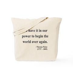 Thomas Paine 11 Tote Bag