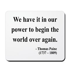 Thomas Paine 11 Mousepad