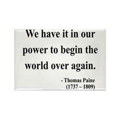 Thomas Paine 11 Rectangle Magnet (10 pack)