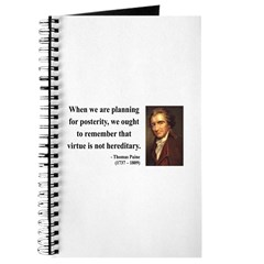 Thomas Paine 12 Journal