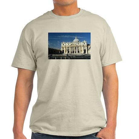St Peters Basilica Light T-Shirt