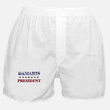 DAMARIS for president Boxer Shorts