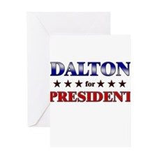 DALTON for president Greeting Card