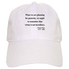 Thomas Paine 12 Baseball Cap