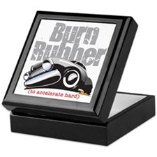 Burn Rubber Keepsake Box