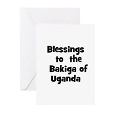 Blessings  to  the  Bakiga of Greeting Cards (Pk o