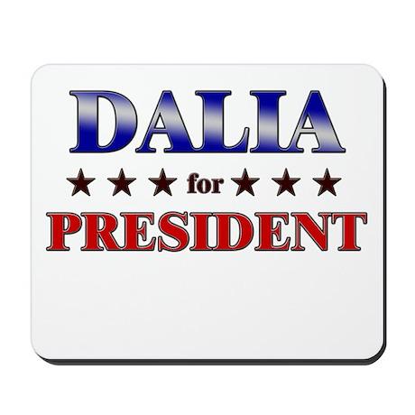 DALIA for president Mousepad