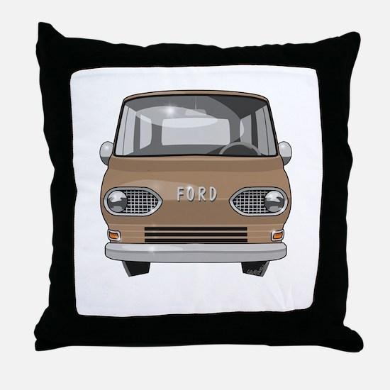 1965 Ford Van Throw Pillow