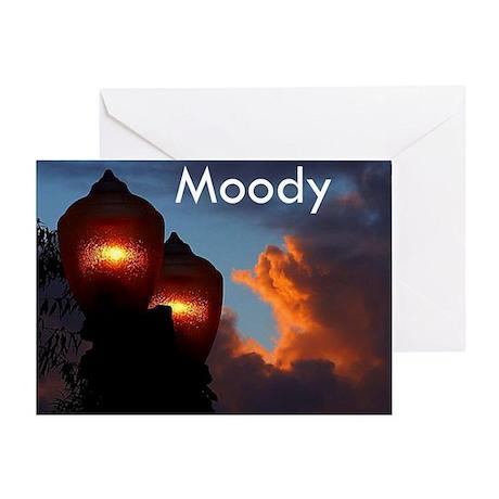 Moody Greeting Card