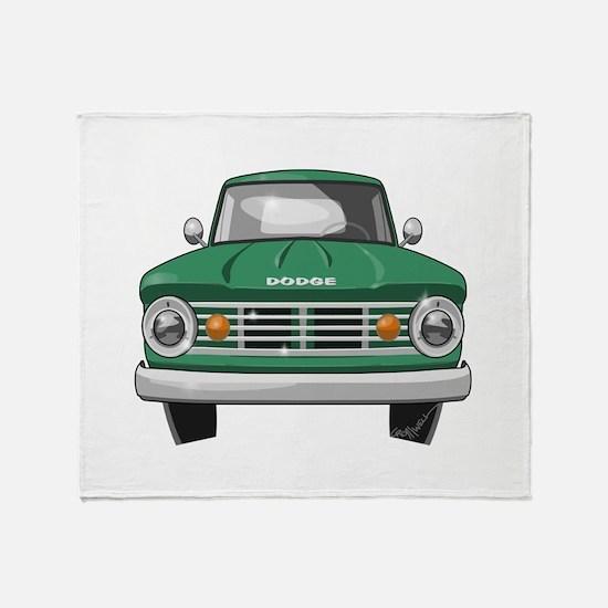 1967 Dodge Fargo Throw Blanket