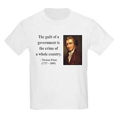 Thomas Paine 14 Kids Light T-Shirt