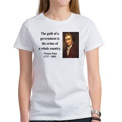 Thomas Paine 14 Women's T-Shirt