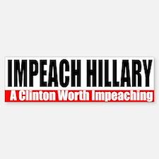 Impeach Hillary Bumpersticker