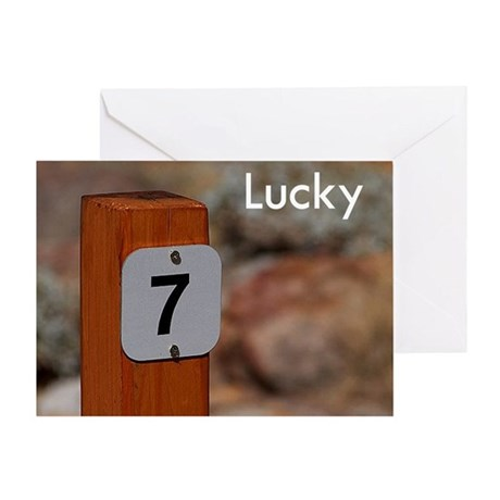 Lucky Greeting Card