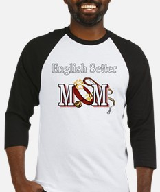 english setter mom darks Baseball Jersey