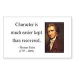 Thomas Paine 15 Rectangle Sticker