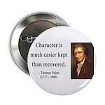 """Thomas Paine 15 2.25"""" Button"""