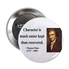 "Thomas Paine 15 2.25"" Button (10 pack)"