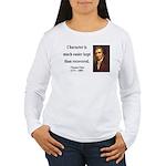 Thomas Paine 15 Women's Long Sleeve T-Shirt