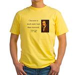 Thomas Paine 15 Yellow T-Shirt