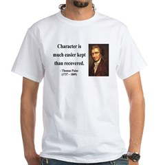 Thomas Paine 15 White T-Shirt