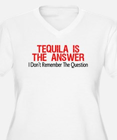 Tequila Is The Answer Plus Size T-Shirt