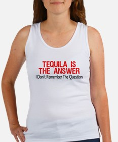 Tequila Is The Answer Tank Top