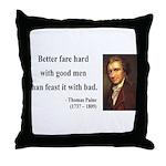 Thomas Paine 16 Throw Pillow