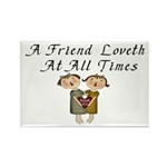 Proverbs 17:17 Rectangle Magnet (10 pack)