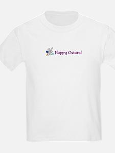 Hoppy Ostara! Kids T-Shirt