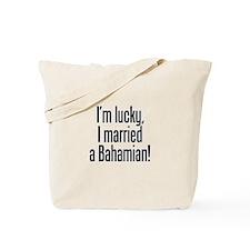 Married a Bahamian Tote Bag