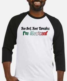 Bet Your Tamales Mexican Baseball Jersey