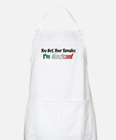 Bet Your Tamales Mexican Apron