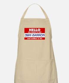 Hello... not Jeff Gannon BBQ Apron