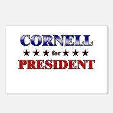 CORNELL for president Postcards (Package of 8)