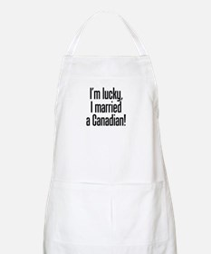 Married a Canadian BBQ Apron