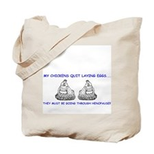 Henopause Tote Bag