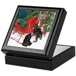 Schnauzer Christmas Keepsake Box