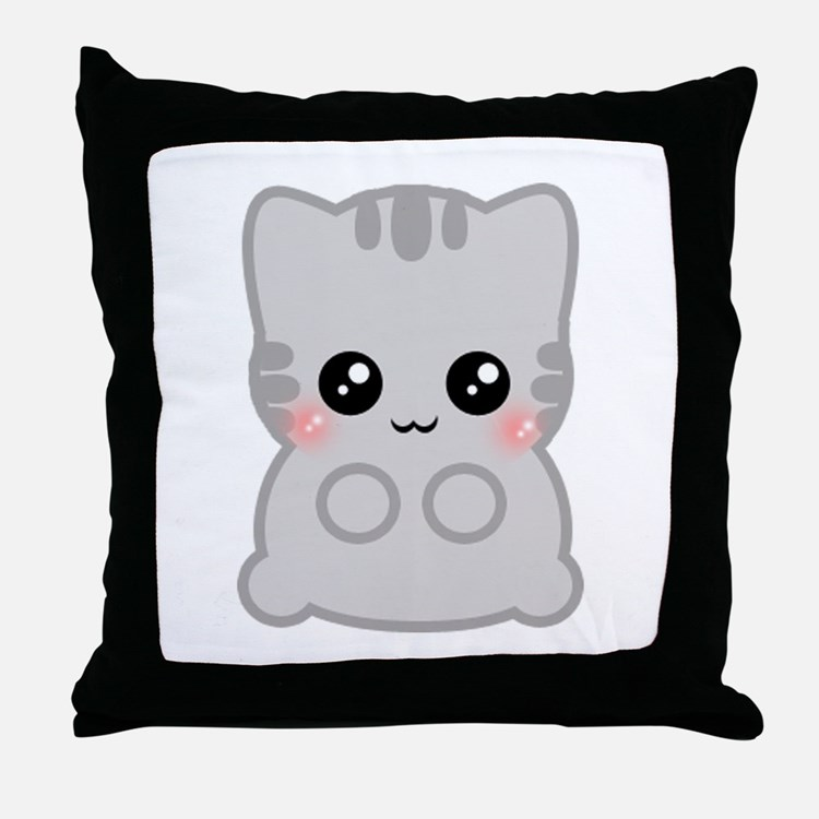 Anime Neko Pillows, Anime Neko Throw Pillows & Decorative Couch Pillows