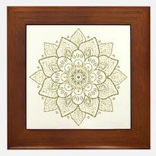 Cool Mandala Framed Tile