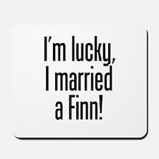 Married a Finn Mousepad