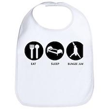 Eat Sleep Bungee Jump Bib