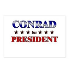 CONRAD for president Postcards (Package of 8)