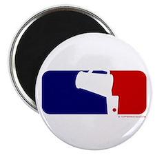 Beer Pong League Logo Magnet